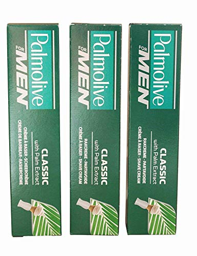 Bundle - 3 items: Palmolive - 100ml Shaving Cream Classic with Palm Extract Set by Palmolive