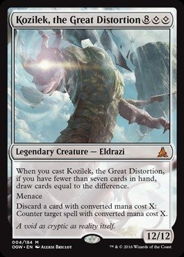 Magic The Gathering - Kozilek, The Great Distortion (004/184) - Oath of The Gatewatch