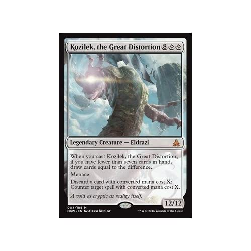 the Great Distortion NM 1 Oath of the Gatewatch MTG Magic the Gathering Kozilek