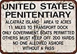 No dream Alcatraz Prison Eisen Malerei Wand Poster Metall