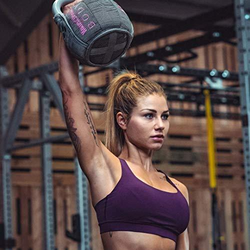 WOMEN'S HEALTH BODY Soft Kettlebell   Richtiges Tool für Shaping, Conditioning und Kraftaufbau   Textilüberzug für Training zu Hause (10)