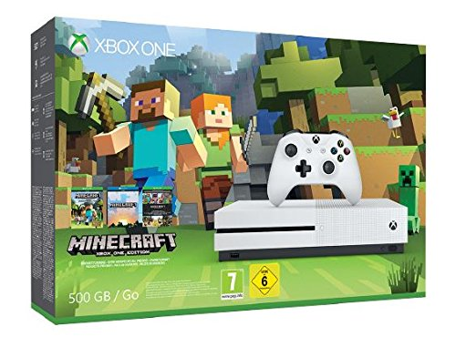Xbox One S - Pack Consola 500 GB Minecraft