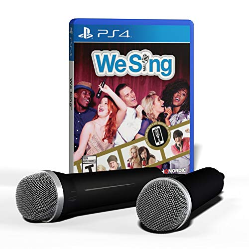 We Sing 2-Mic Bundle (PS4) - PlayStation 4 Bundle Edition (Renewed)