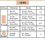 Zoom IMG-1 hb life tovaglia rettangolare design