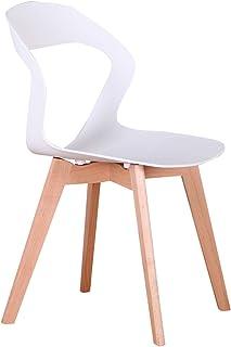 555 Un conjunto de 4 sillas de comedor/sillas de café,
