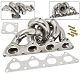 TD05 Turbo Flange Engine Motor Exhaust Manifold Stainless Steel For Eclipse Laser Talon 4G63 2.0L
