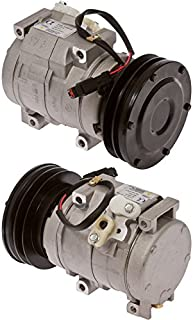 New AC A/C Compressor Fits: Denso / Caterpillar 10S17C 1GR 5.33in 24V DUST COVER Replaces: 231-6984, 1761895, 2013837
