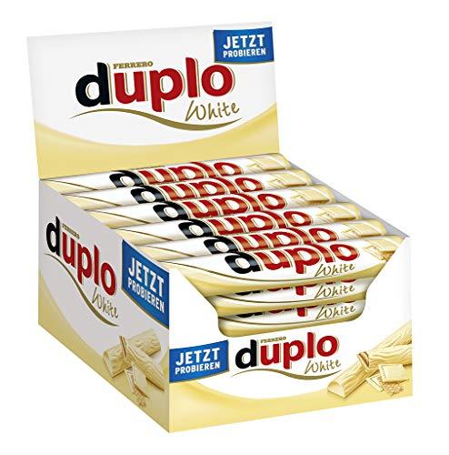 Ferrero Duplo Blanco Gofrera 18 g – Lote de 40