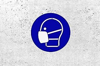 SchabloneMaske benutzen zweiteilig, Gebotszeichen M016