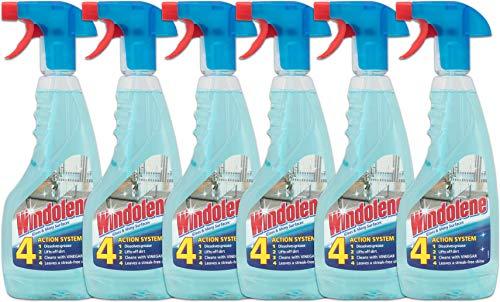 Windolene Trigger Spray 500 ml (Pack of 6)