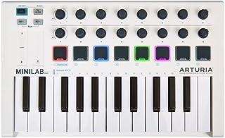 Minilab MK II controlador MIDI 25teclas 16Universal Pad RGB Comandos