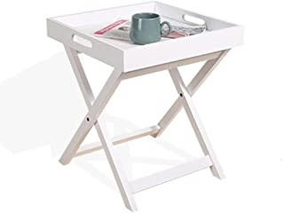 Amazon.fr : table basse pliante en bois - Blanc