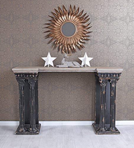 Wandtisch Antik Konsole Säulen Konsolentisch Shabby Chic Tischkonsole got004 Palazzo Exklusiv