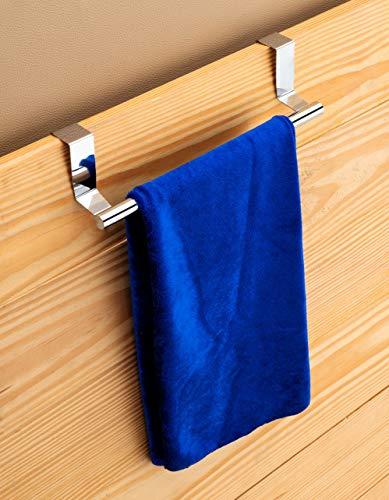 HOME 99 TOWEL BAR/Kitchen Hook Drawer Storage Adjustable over Cabinet Stainless Steel Towel Bar/towel Holder/over cabinet towel bar (9-inch)