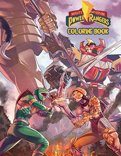 Power Rangers Coloring Book: Super Power Rangers book for kids