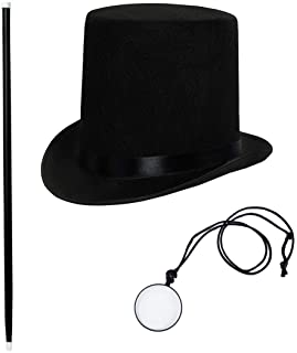 Tigerdoe Gentlemans Costume - Rich Man Costume - Victorian Costume Accessories - 3 PC Victorian Costume