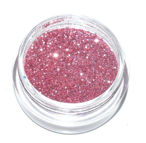 Crystal Rose Pink Eye Shadow Loose Glitter Dust Body Face Nail Art Party Shimmer Make-Up by Kiara H&B