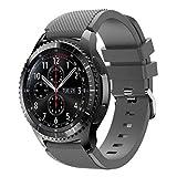 qianqian56 - Cinturino di ricambio in morbido silicone per orologio sportivo Sam-sung Galaxy Watch/Gear S3/Gear2 R380/Gear2 Neo R381/Live R382