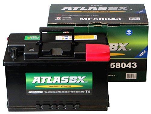 ATLASBX [ アトラス ] 輸入車バッテリー [ Dynamic Power ] MF 58043