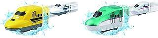 おふろDEミニカー 923形ドクターイエロー/700系新幹線 & おふろDEミニカー E5系新幹線はやぶさ【セット買い】