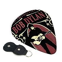 Bob Dylan Freewheelin ボブディランフリーホイーリン ギターピック ウクレレピック 6枚セット エレキギター プレクトラム 弦楽器 ティアドロップ 快適な手触り 小さく Guitar Picks 3種類の厚み0.96mm/ 0.71mm/ 0.46mm