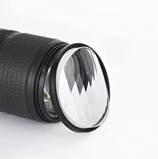 Camera Filter Accessories 77mm Linear Glass Prism, Foreground Blur, Repeated Color Images, Glass Prism Special Effects Filter