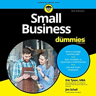 Small Business for Dummies audiobook cover art