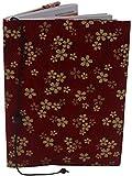Porta Libretto Sanitario Neonato - Motivo a fiori - Formato A5 15x20 cm