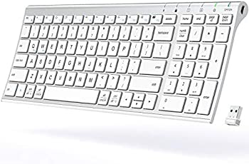 iClever Wireless Rechargeable Keyboard with Number Pad