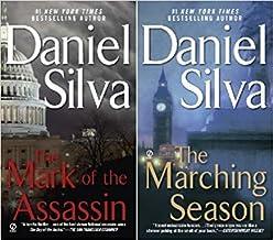 Silva's 2-book MICHAEL OSBOURNE Series -- Mark of the Assassin / Marching Season
