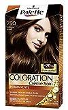 Schwarzkopf - Palette - Coloration Permanente Cheveux - Chatain Doré 750