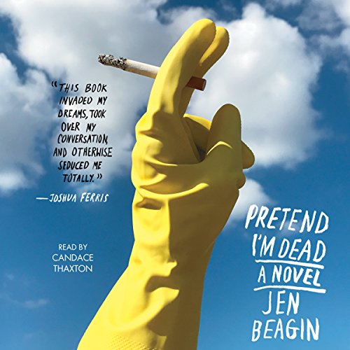 Pretend I'm Dead audiobook cover art