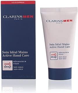 Clarins Men Active Hand Cream for Men, 2.6 Ounce