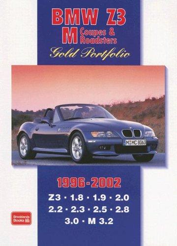 BMW Z3 M Coupes & Roadsters Gold Portfolio: 1996-2002