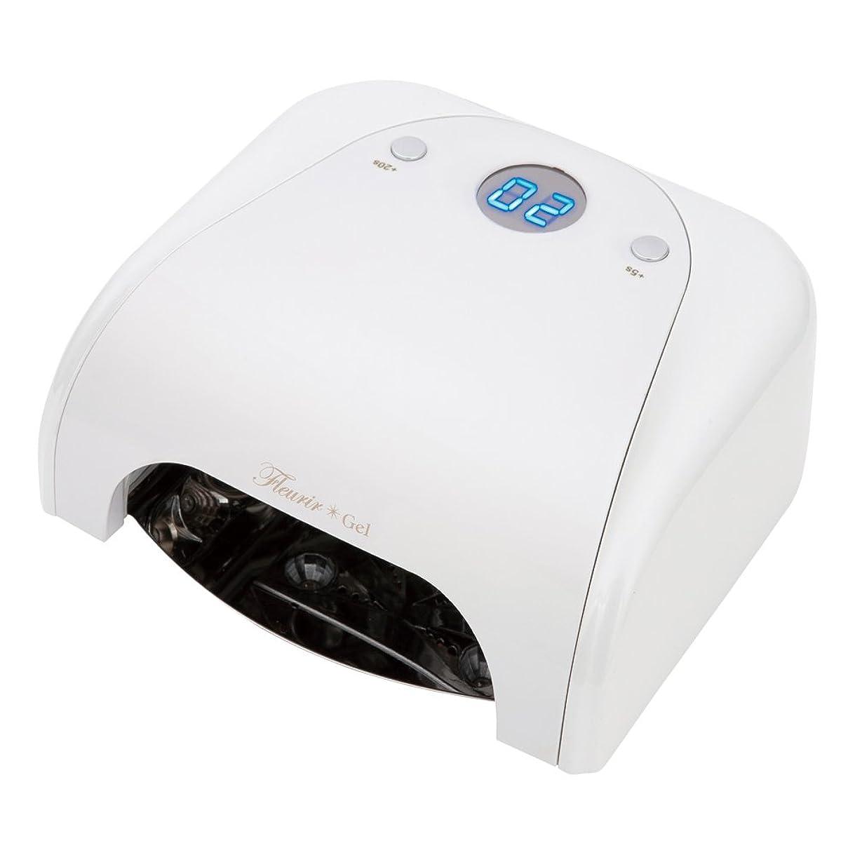 ハプニング保険贅沢なFleurir フルーリアジェル LED LIGHT ホワイト