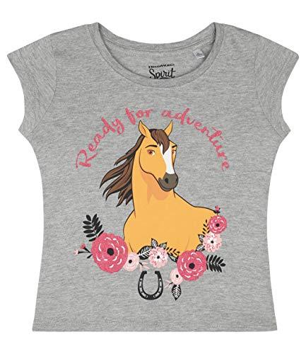 Spirit Spirit Mädchen T-Shirt Grau 116