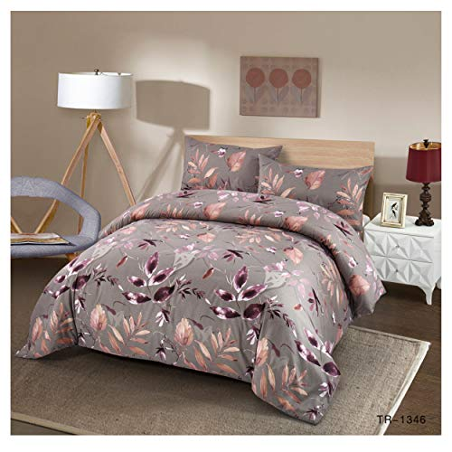 COTTON ART Funda Nordica KADO Cama de 150/160 (240 X 240cm) Cierre con