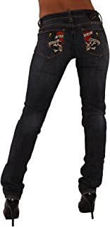 Love Kills Slowly Skinny Straight Jeans Dark