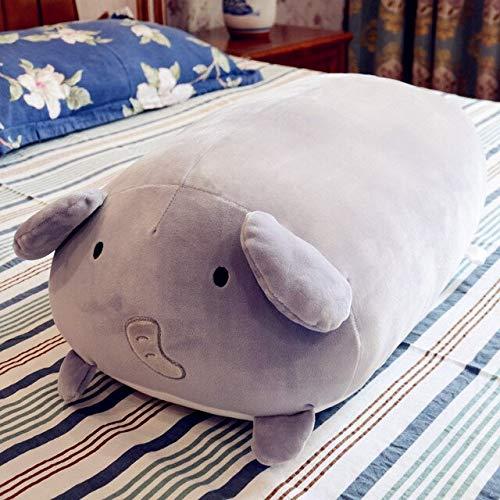 N / A Lucky Boy Sunday Soft Animals Cojín de Almohada de Felpa Lindo Unicornio Dinosaurio Hámster Elefante Juguete de Felpa Muñeca para niños Regalo de cumpleaños 50 cm