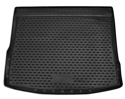 AD Tuning TM30022 Passform Gummi Kofferraumwanne, rutschfest, schwarz