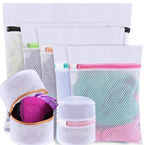 BAGAIL Set of 7 Mesh Laundry Bags for SweaterBlouseHosieryBrasetc Premium Wash Laundry Bags for Travel Storage Organization7 Set