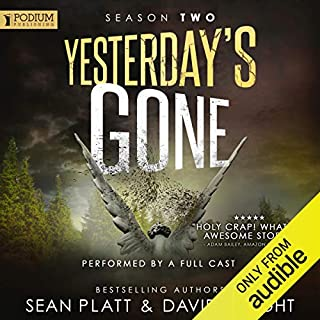 Page de couverture de Yesterday's Gone: Season 2