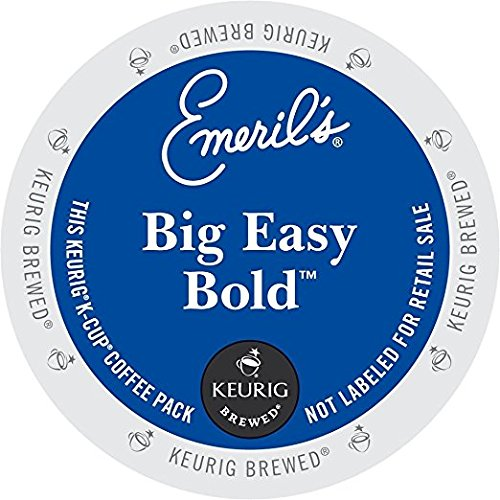 Keurig, Emeril's, Big Easy Bold Coffee, K-Cup Counts, 50 Count