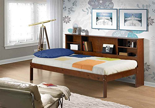 Hot Sale Cherokee Twin Slat Bed with Bookcase