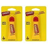 Carmex Bálsamo Labial Hidratante Clásico en Tubo Chapstick 10gr - Pack de 2