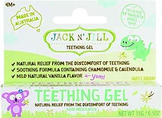 Jack N' Jill Teething Gel for 4 Months and Above Babies 15 g, 15 grams
