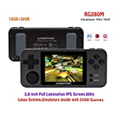 Anbernic Handheld Game Console RG280M with Opening Linux Tony System 64Bit 2.8 inch