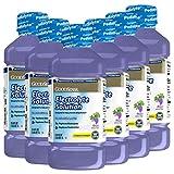 GoodSense Grape Electrolyte Solution, Replaces Electrolytes, Fluid & Zinc, Kids & Adults, 33.8 Fluid Ounces (Pack of 6)