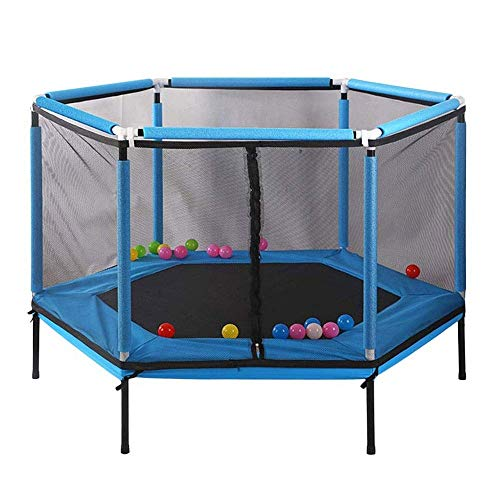 Trampoline Grote Stretch Jump Mat for Indoor Outdoor Huishouden, Verjaardag Gifts for Kids Boy Girl, 62 Inch vervanging van trampolinestokken,dljyy
