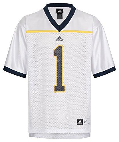 NCAA Football Trikot Jersey College Michigan Wolverines #1 weiß (M)